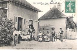 10 - SAINTE - MAURE - CULOISON  : MAISON BEZAIN . - France