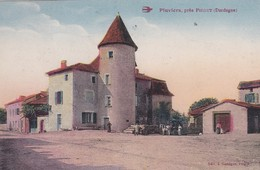 (Rare Vue De)  PLUVIERS (24) Près PIEGUT - France