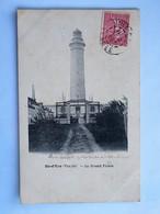 C.P.A. 85 ILE D'YEU : Le Grand Phare, Timbre En 1905 - Ile D'Yeu