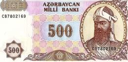 Azerbaijan  P-19  500 Manat  1993  UNC - Azerbaïdjan