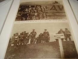 AFFICHE PHOTO HITLER SUR LE FRONT ALLEMAND DE POLOGNE 1939 - 1939-45