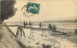 CARTE PHOTO SAINT LAURENT DU VAR - Rampe D'accès - Camp Militaire - Saint-Laurent-du-Var