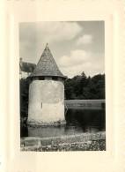 PHOTO : GIRONDE - 2 PHOTOS DU CHATEAU DE LA BREDE - 1955 - Lieux