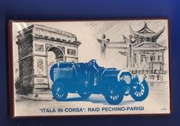 FDC Raid Pechino Parigi Filagrano 1989 CONTENITORE / ALBUM Vuoto X 12 Buste Del Giro - 6. 1946-.. Republic