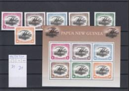 Papua Neru Guinea Michel Cat.No. Mnh/** 925/930 + Sheet 21 - Papoea-Nieuw-Guinea