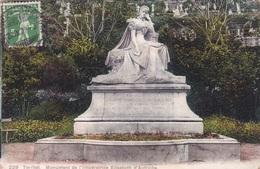 TERRITET MONUMENT DE L'IMPERATRICE ELISABETH D'AUTRICHE VG   AUTENTICA 100% - VD Waadt