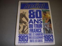 CYCLISME SPRINT INTERNATIONAL HS3 80 ANS DE TOUR DE FRANCE - Sport