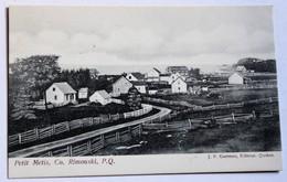 CPA Rare Canada Petit Metis Metis Sur Mer Co. Rimouski P. Q. Garneau éditeur Quebec - Otros