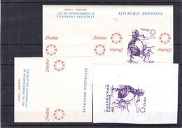 Rwanda - Danse - COB BF 7 ** - Essais D'imprimerie - Expo 67 De Montreal - - Rwanda