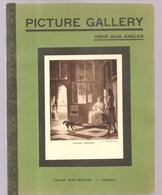 Cahier D'écolier Des Années 1950 Picture Gallery Intérieur Hollandais De P. De Hooch Librairie Saint-Martin à Guéret - Protège-cahiers