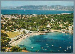 CAP D'ANTIBES - Plage De La Garoupe Et Au Fond, Golfe-Juan Et Cannes - Cap D'Antibes - La Garoupe