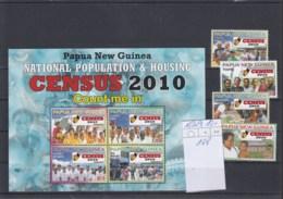 Papua Neru Guinea Michel Cat.No. Mnh/** 1536/1539 + Sheet 108 - Papoea-Nieuw-Guinea