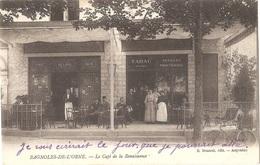 Dépt 61 - BAGNOLES-DE-L'ORNE - Le Café De La Renaissance - (devanture) - Bagnoles De L'Orne