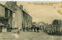44 - ABBARETZ - Château De Villeneuve - Vue D'ensemble - Côté Nord. - Otros Municipios