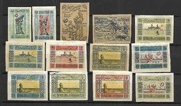AZERBADJAN 1919/21 Michel 1 - 12 * - Azerbaïdjan