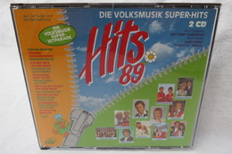 """2 CDs """"Die Volksmusik Super-Hits"""" Hits 89 - Música & Instrumentos"""