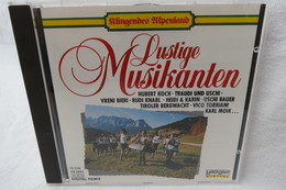 """CD """"Lustige Musikanten"""" Aus Der Reihe Klingendes Alpenland - Musik & Instrumente"""