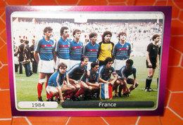 EURO2012 PANINI N. 525 FRANCE 1984  STICKER NEW CON VELINA - Edizione Italiana
