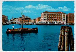 CHIOGGIA (VE)   PIAZZETTA  VIGO    HOTEL  GRANDE  ITALIA        (VIAGGIATA) - Italia