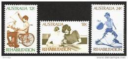 AUSTRALIA 1972 - Rehablitation Disabled / Education / Playing - SALE! 4v Mi 514-16 MNH** Cv€1,50 K110 - 1966-79 Elizabeth II