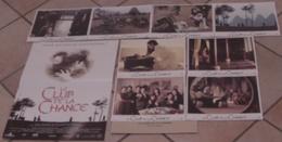 AFFICHE CINEMA ORIGINALE FILM LE CLUB DE LA CHANCE + 8 Photos EXPLOITATION WANG MONG-NA 1993 TBE - Posters