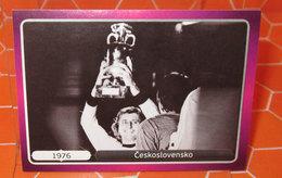 EURO2012 PANINI N. 522 CESKOSLOVENSKO 1976  STICKER NEW CON VELINA - Panini