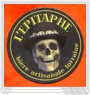 Sous Bock Biere Bier Beer L EPITAPHE Biere Artisanale Lorraine - Bierdeckel