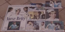 AFFICHE CINEMA ORIGINALE FILM NURSE BETTY + 6 Photos Exploitation LABUTE Morgan FREEMAN ZELLWEGER Chris ROCK 2000 TBE - Posters