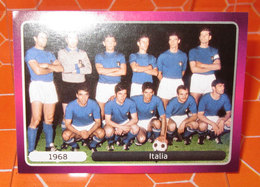 EURO2012 PANINI N. 517 ITALIA 1968  STICKER NEW CON VELINA - Panini