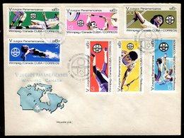 Cuba - Enveloppe FDC 1967 - Sports - O 86 - FDC