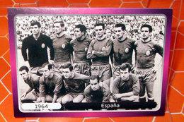 EURO2012 PANINI N. 515 ESPANA 1964  STICKER NEW CON VELINA - Edizione Italiana