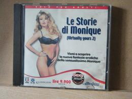 MONDOSORPRESA, (PC- GIOCO) LE STORIE DI MONIQUE - VIRTUALLY YOURS 2  - SEXY - PC-Games