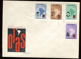 Cuba - Enveloppe FDC 1967 - Conférence De La OLAS - O 88 - FDC