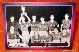 EURO2012 PANINI N. 513  SSSR 1960  STICKER NEW CON VELINA - Panini
