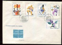 Cuba - Enveloppe FDC 1967 - Congrès De La Havane - O 90 - FDC