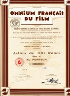 OMNIUM FRANCAIS Du FILM - Cinéma & Théatre