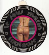 """Fesses Nues  Du"""" Le Sous Marin à Toulouse """"  Adhèsif - Fine Nudes (adults < 1960)"""