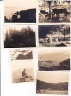 CORFU' - GRECIA - LOTTO DI 7 FOTO DEGLI ANNI 50 - CON DIDASCALIA - Lieux