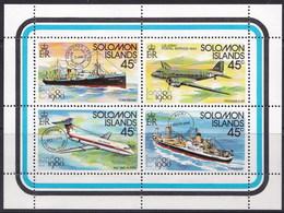 Salomon 0406/409 ** MNH. 1980 - Islas Salomón (1978-...)