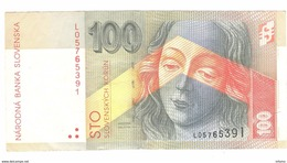 Slovakia 100 Korun 1997 - Slovaquie