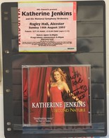 Katherin Jenkins Signed Cd 2005  Second Nature - Classical