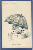 CPA ROBERTY Satirique Caricature Mode Chapeau Type Sager Non Circulé érotisme Parapluie - Robert