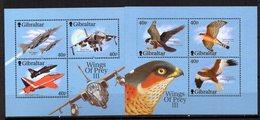 Hb-46/7   Gibraltar - Águilas & Aves De Presa
