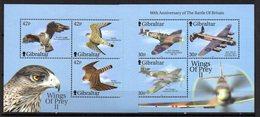 Hb-42/3   Gibraltar - Águilas & Aves De Presa