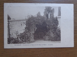Waterloo, Pensionnat Des Soeurs Du St Coeur De Marie, La Grotte --> Beschreven - Waterloo