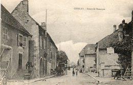 CPA - OISELAY (70) - Aspect De La Route De Besançon En 1919 - France