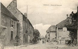 CPA - OISELAY (70) - Aspect De La Route De Besançon En 1919 - Francia