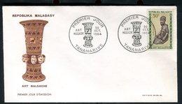 Madagascar - Enveloppe FDC 1964 - Art Malgache - O 130 - Madagascar (1960-...)