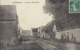 °°° 45 ESCRENNES  /  RUE DE MONTVILLIERS       °°°  ///  REF OCT.18  ///  BO 45 - Frankrijk