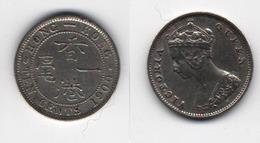 + HONG KONG   + 10 CENTS 1900 + - Hong Kong